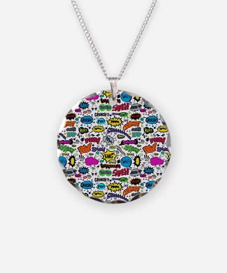 Comic Book Necklace