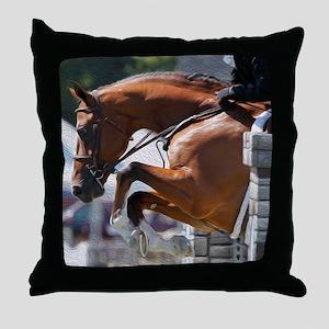 Over Fences D1389-013 Throw Pillow