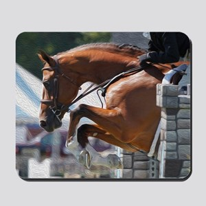 Over Fences D1389-013 Mousepad