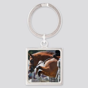 Over Fences D1389-013 Square Keychain