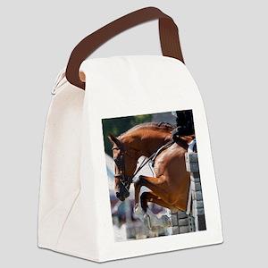 Over Fences D1389-013 Canvas Lunch Bag