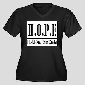 Hope Plus Size T-Shirt
