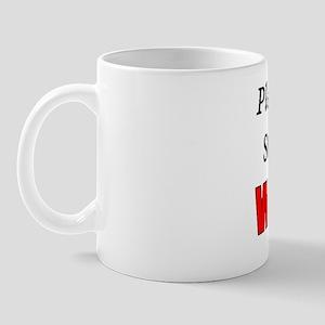 Please Help Us Stop Global WHINING Mug