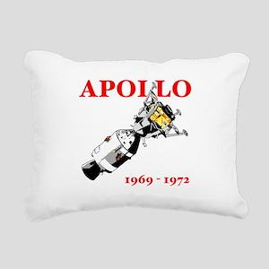 Apollo 1969-1972 Rectangular Canvas Pillow