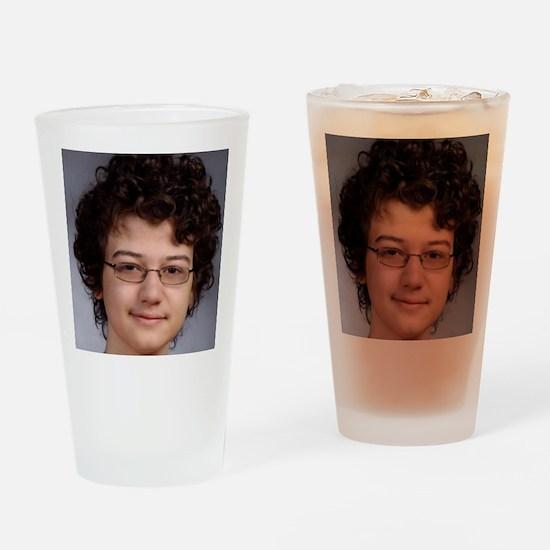 Aidan 2012 Headshot Drinking Glass