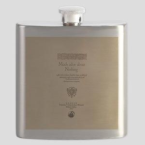 Folio-MuchAdoAboutNothing-men Flask