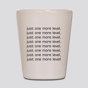 One More Level Tee Shot Glass