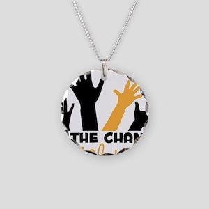 BeThe Change Necklace Circle Charm