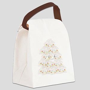 1000 Paper Cranes Canvas Lunch Bag