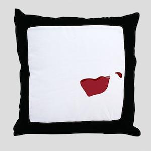 I Dont Spit,,,wht Throw Pillow