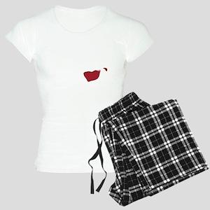 I Dont Spit,,,wht Women's Light Pajamas