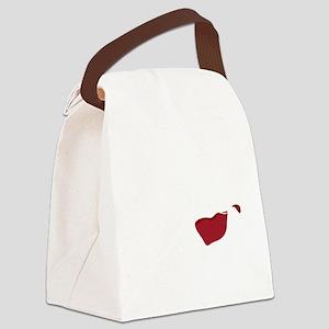 I Dont Spit,,,wht Canvas Lunch Bag