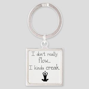 Flow or creak? Square Keychain