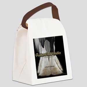 2013 Feathered Gold Gypsy Horse C Canvas Lunch Bag