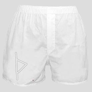 Thurisaz Rune Meaning Energy enthusia Boxer Shorts