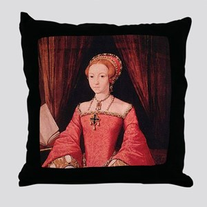 Elizabeth I Throw Pillow
