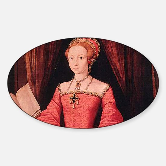 Elizabeth I Sticker (Oval)