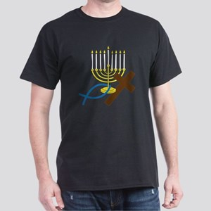 Jewish And Christian Dark T-Shirt