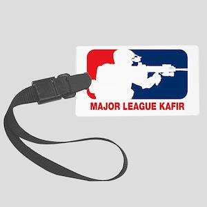 Major League Kafir Large Luggage Tag