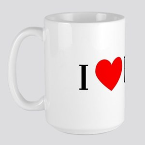 I Love Hawthorne Large Mug
