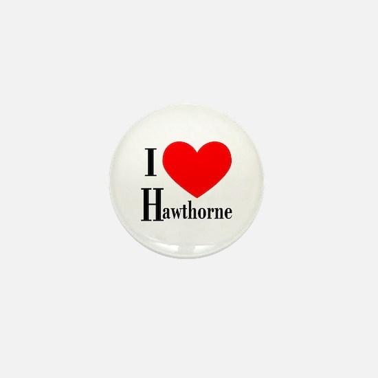 I Love Hawthorne Mini Button (10 pack)