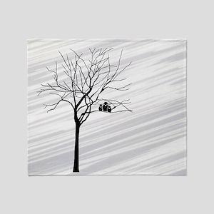 t-shirt men_826_H_F_Winter Tree2 Throw Blanket