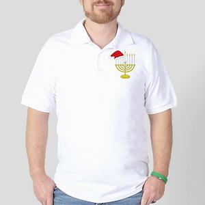 Hanukkah And Christmas Golf Shirt