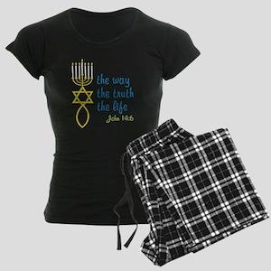 John 14:6 Women's Dark Pajamas