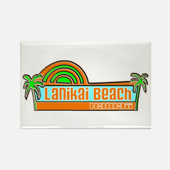 Lanikai Beach, Hawaii Rectangle Magnet