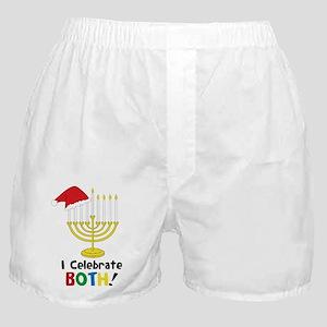I Celebrate Both Boxer Shorts