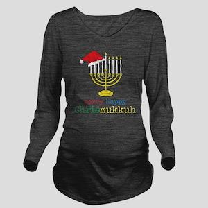 Chrismukkuh Long Sleeve Maternity T-Shirt