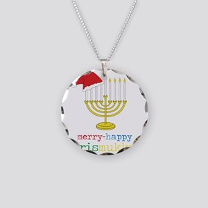 Chrismukkuh Necklace Circle Charm