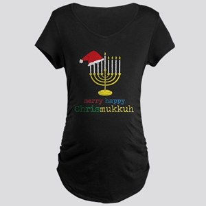 Chrismukkuh Maternity Dark T-Shirt