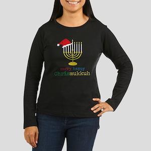 Chrismukkuh Women's Long Sleeve Dark T-Shirt