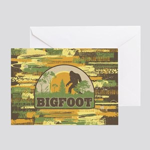 Bigfoot Greeting Card
