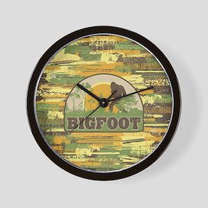 Bigfoot Wall Clock