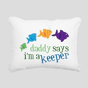 Im A Keeper Rectangular Canvas Pillow