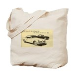 Two + Red Studebakers on Tote Bag