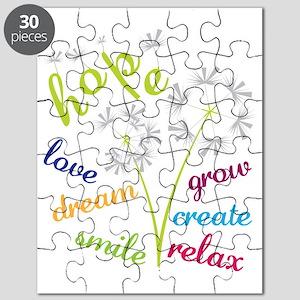Dandelion Hope Puzzle