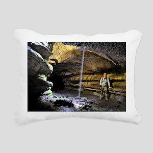 Lava Caves Rectangular Canvas Pillow