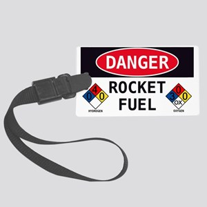 Rocket Fuel Large Luggage Tag