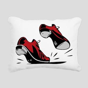 Tap Dancing Shoes Rectangular Canvas Pillow