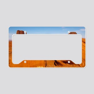 Boulders at Monument Valley License Plate Holder