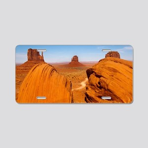 Boulders at Monument Valley Aluminum License Plate
