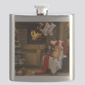 By the Fireplace Flask