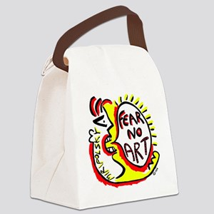 Fear No Art - Original! Canvas Lunch Bag