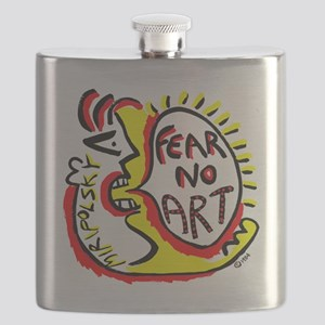 Fear No Art - Original! Flask