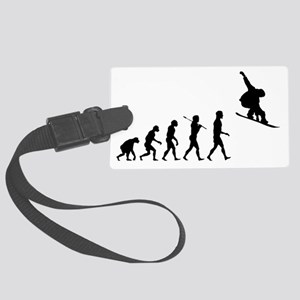 Snowboard Grab Evolution  Large Luggage Tag