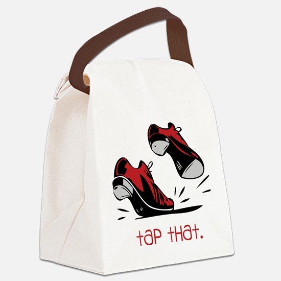 Tap That Canvas Lunch Bag
