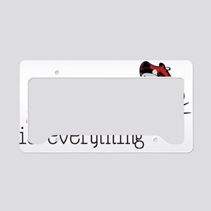 Timing Is Everything License Plate Holder